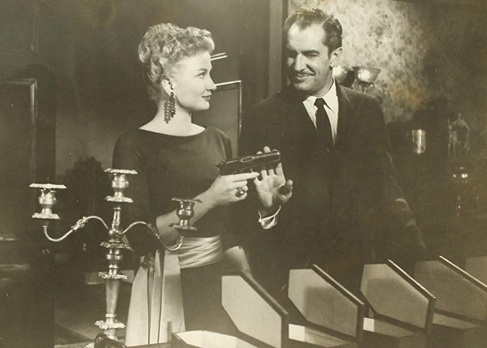 Vincent Price and Carol Ohmart in House on Haunted Hill (1959)