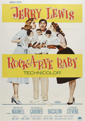 Jerry Lewis in Rock-a-Bye Baby (1958)
