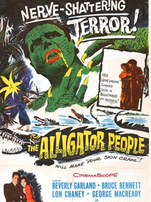Richard Crane and Beverly Garland in The Alligator People (1959)