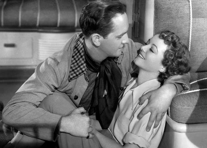 Janet Gaynor and Fredric March in A Star Is Born (1937)