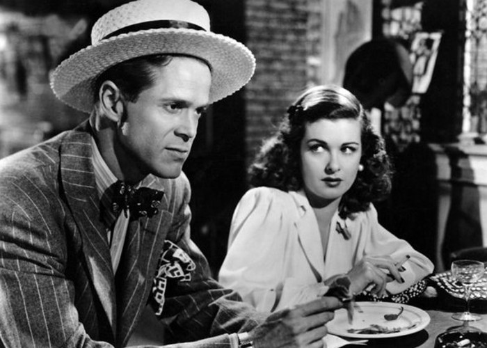Joan Bennett and Dan Duryea in Scarlet Street (1945)