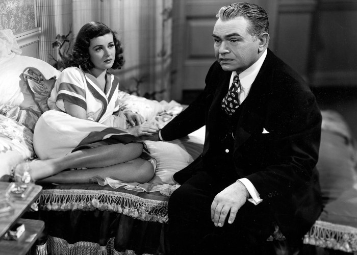 Edward G. Robinson and Joan Bennett in Scarlet Street (1945)