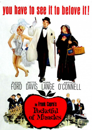 Bette Davis, Peter Falk, Glenn Ford, Hope Lange, Thomas Mitchell, and Arthur O'Connell in Pocketful of Miracles (1961)