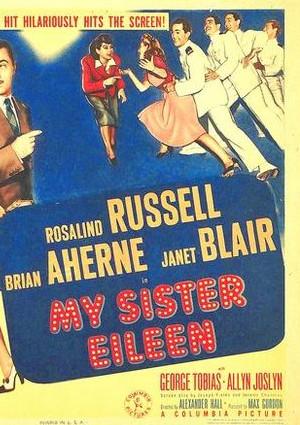 Brian Aherne, Janet Blair, Rosalind Russell, and George Tobias in My Sister Eileen (1942)