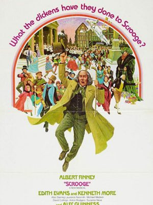 Alec Guinness, Albert Finney, Richard Beaumont, David Collings, Frances Cuka, Edith Evans, Michael Medwin, Kenneth More, Laurence Naismith, Suzanne Neve, Mary Peach, Anton Rodgers, Karen Scargill, and Kay Walsh in Scrooge (1970)