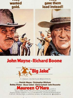 John Wayne in Big Jake (1971)