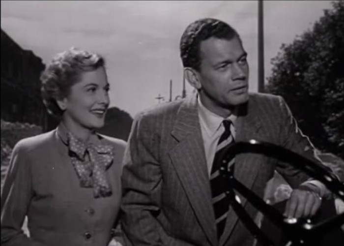 Joan Fontaine and Joseph Cotten in September Affair (1950)