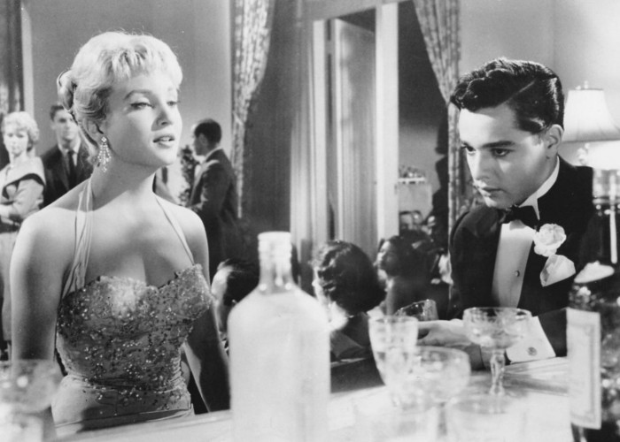 Sal Mineo and Susan Oliver in The Gene Krupa Story (1959)