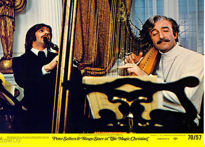 Peter Sellers and Ringo Starr in The Magic Christian (1969)