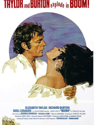 "Elizabeth Taylor and Richard Burton in ""Boom"""