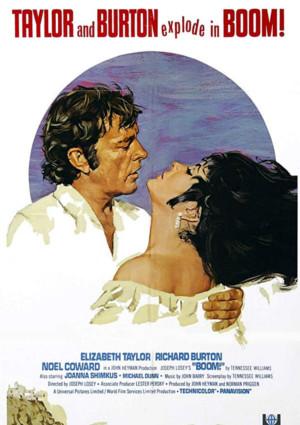 "Elizabeth Taylor and Richard Burton in ""Boom"""