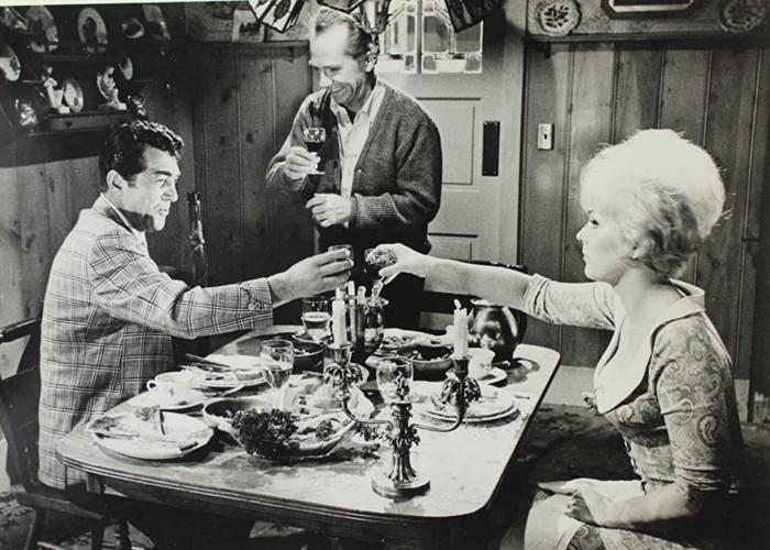 Dean Martin, Kim Novak, and Ray Walston in Kiss Me, Stupid (1964)