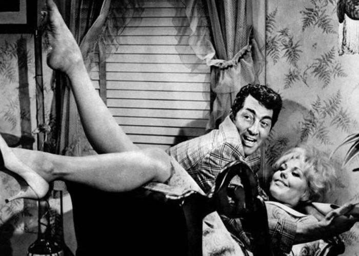 Dean Martin and Kim Novak in Kiss Me, Stupid (1964)