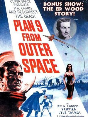 Edward D. Wood Jr. in Plan 9 from Outer Space (1959)