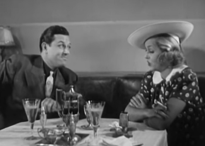 Patricia Ellis and Warren Hull in Rhythm in the Clouds (1937)