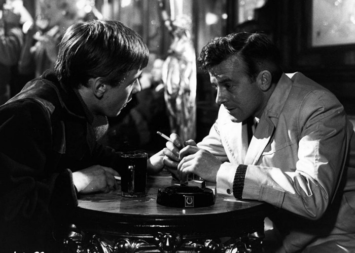 Donald Churchill and Peter McEnery in Victim (1961)