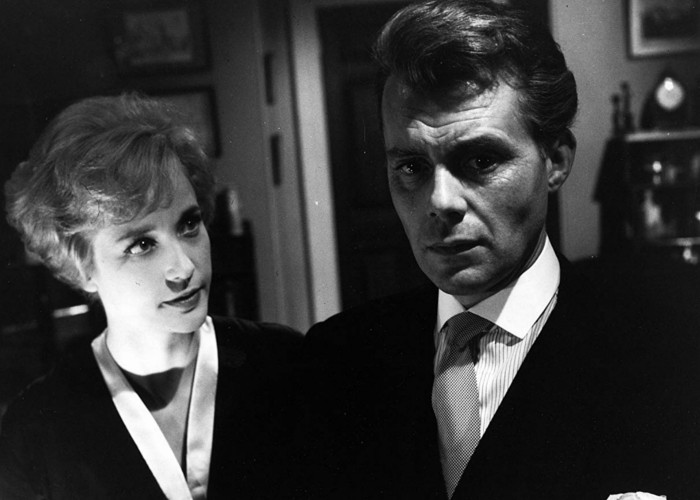Dirk Bogarde and Sylvia Syms in Victim (1961)