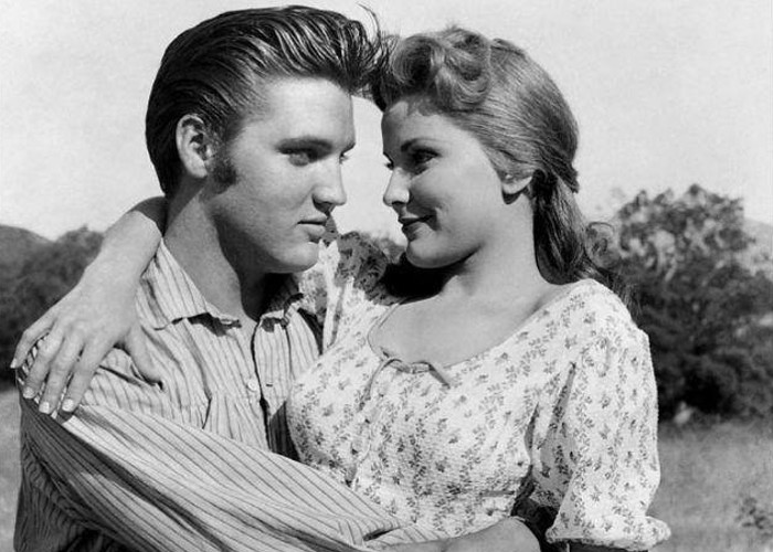 Elvis Presley and Debra Paget in Love Me Tender (1956)