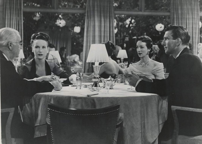 Michael Rennie and Beatrice Straight in Phone Call from a Stranger (1952)