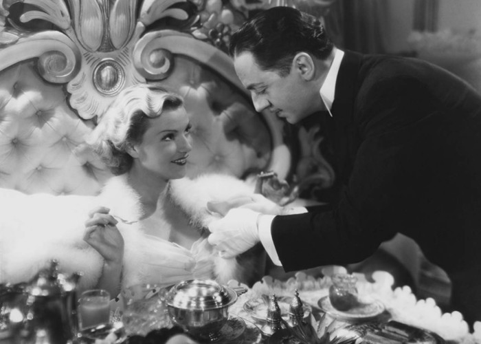 William Powell and Annabella in The Baroness and the Butler (1938)
