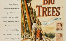 Kirk Douglas, John Archer, Eve Miller, and Patrice Wymore in The Big Trees (1952)