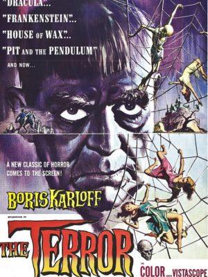 Boris Karloff in The Terror (1963)