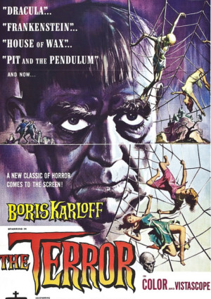 Boris Karloff in The Terror (1963)