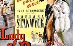 Barbara Stanwyck in Lady of Burlesque (1943)