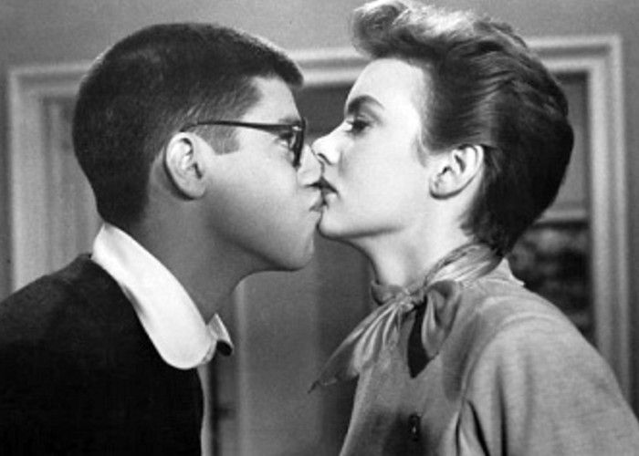 Polly Bergen and Jerry Lewis in That's My Boy (1951)