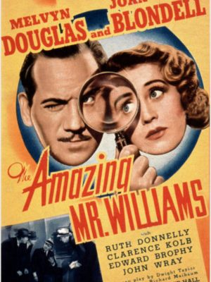 Joan Blondell, Melvyn Douglas, and Clarence Kolb in The Amazing Mr. Williams (1939)
