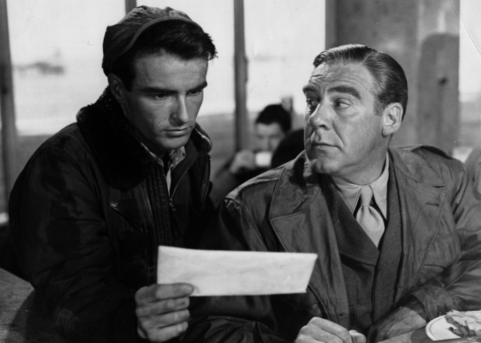Montgomery Clift and Paul Douglas in The Big Lift (1950)