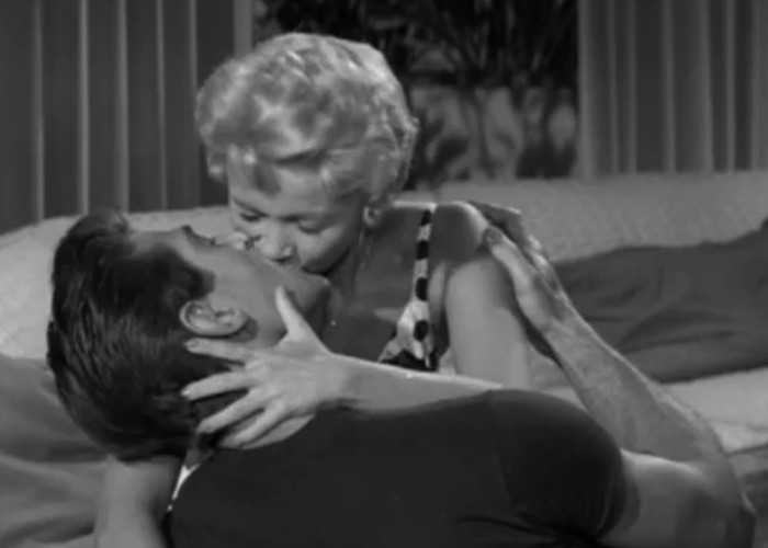 Jane Powell and George Nader in The Female Animal (1958)