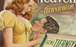 Gene Tierney, Jeanne Crain, and Cornel Wilde in Leave Her to Heaven (1945)
