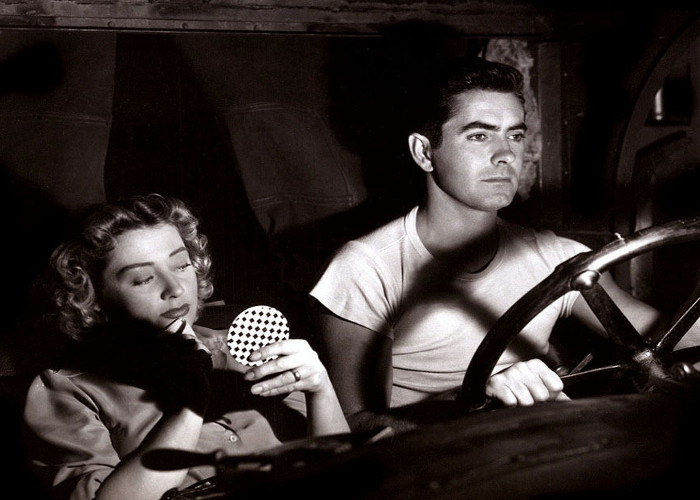 Tyrone Power and Joan Blondell in Nightmare Alley (1947)