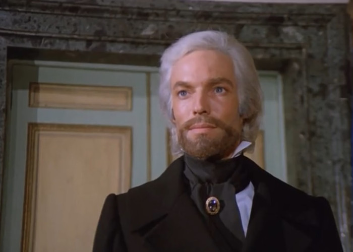 Richard Chamberlain in The Count of Monte-Cristo (1975)