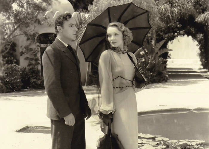 Marlene Dietrich and Charles Boyer in The Garden of Allah (1936)
