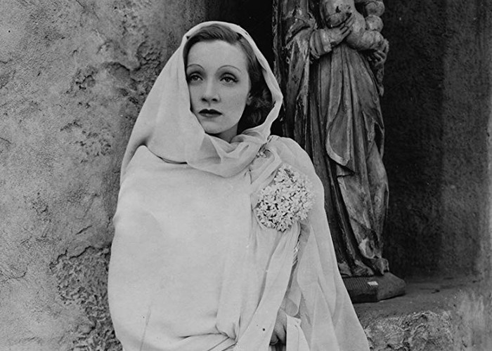 Marlene Dietrich in The Garden of Allah (1936)