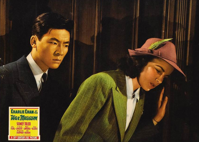 Marguerite Chapman and Victor Sen Yung in Charlie Chan at the Wax Museum (1940)