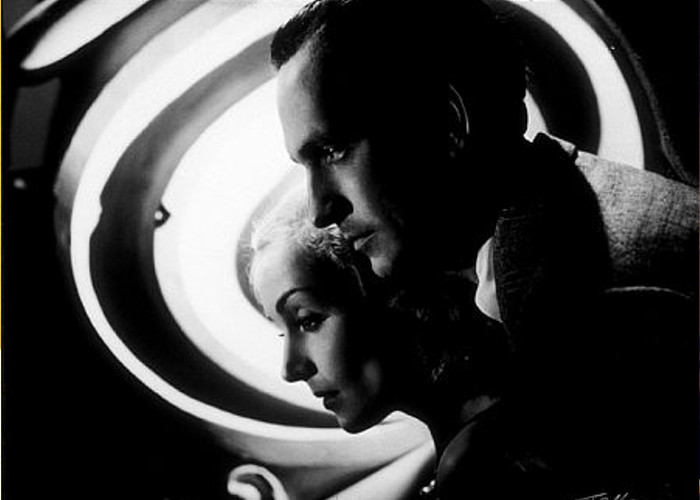 """Carole Lombard and Fredric March in """"Nothing Sacred,"""" 1937."""