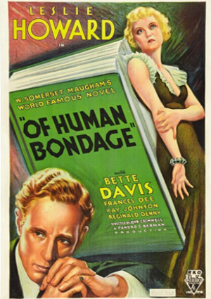 Bette Davis and Leslie Howard in Of Human Bondage (1934)