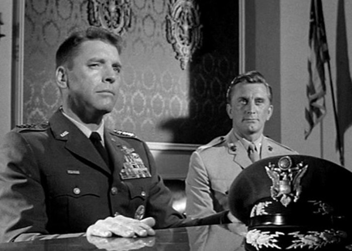 Kirk Douglas and Burt Lancaster in Seven Days in May (1964)