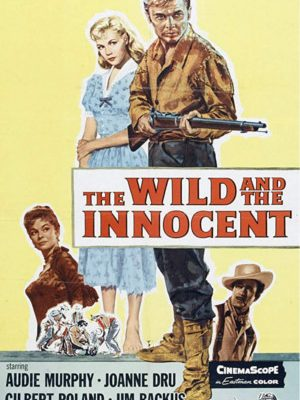 Sandra Dee, Audie Murphy, Joanne Dru, and Gilbert Roland in The Wild and the Innocent (1959)