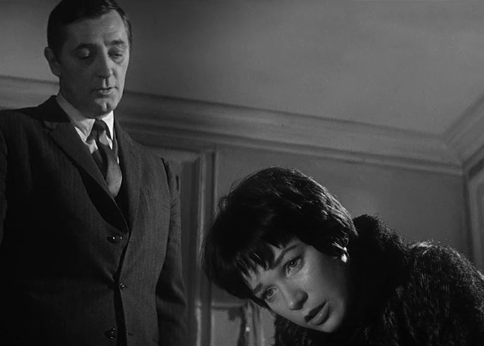 Robert Mitchum and Shirley MacLaine in Two for the Seesaw (1962)