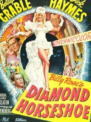 Betty Grable, Dick Haymes, and Phil Silvers in Diamond Horseshoe (1945)