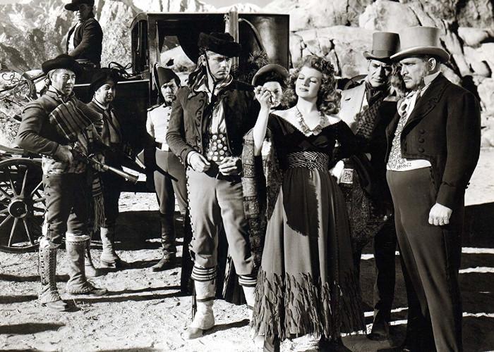 Rita Hayworth and Glenn Ford in The Loves of Carmen (1948)