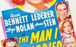 Joan Bennett, Otto Kruger, Francis Lederer, Lloyd Nolan, and Anna Sten in The Man I Married (1940)