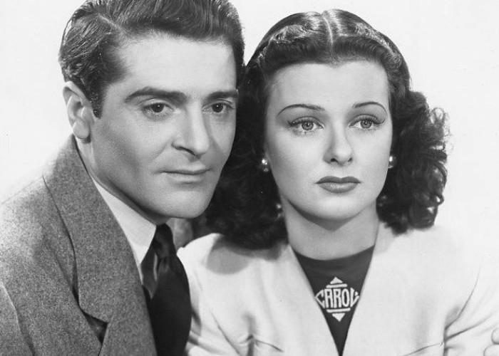 Joan Bennett and Francis Lederer in The Man I Married (1940)