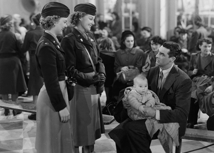 Cary Grant, Marion Marshall, and Ann Sheridan in I Was a Male War Bride (1949)