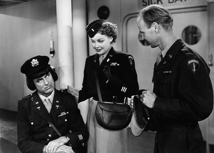 Cary Grant, Russ Conway, and Ann Sheridan in I Was a Male War Bride (1949)