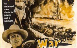 John Wayne, Albert Dekker, and Martha Scott in In Old Oklahoma (1943)